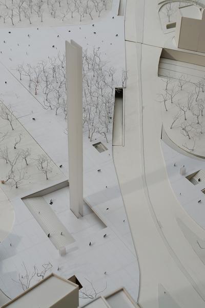 Proyecto ganador del concurso del Arco Bicentenario. Imagen: http://www.arcodelbicentenario.com.mx/
