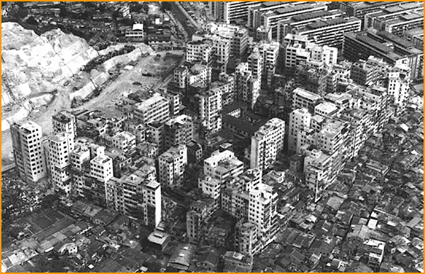Kowloon City en 1973