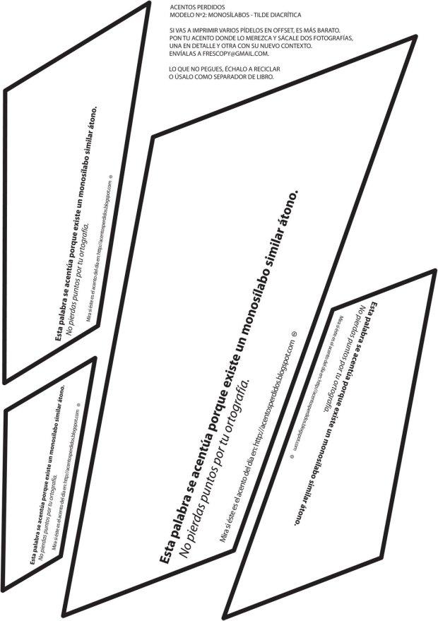 PAquete elemental de acentos imprimibles. http://acentosperdidos.blogspot.com