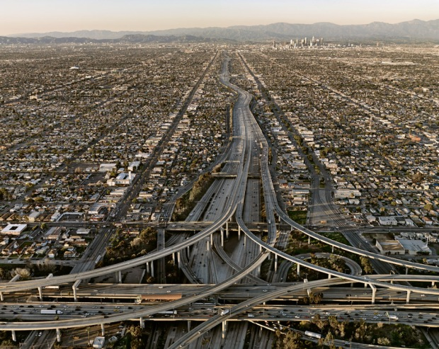Edward Burtynsky, Highway #5, Los Angeles, 2009