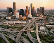 Edward Burtynsky, Highway #7, Houston, Texas, 2004