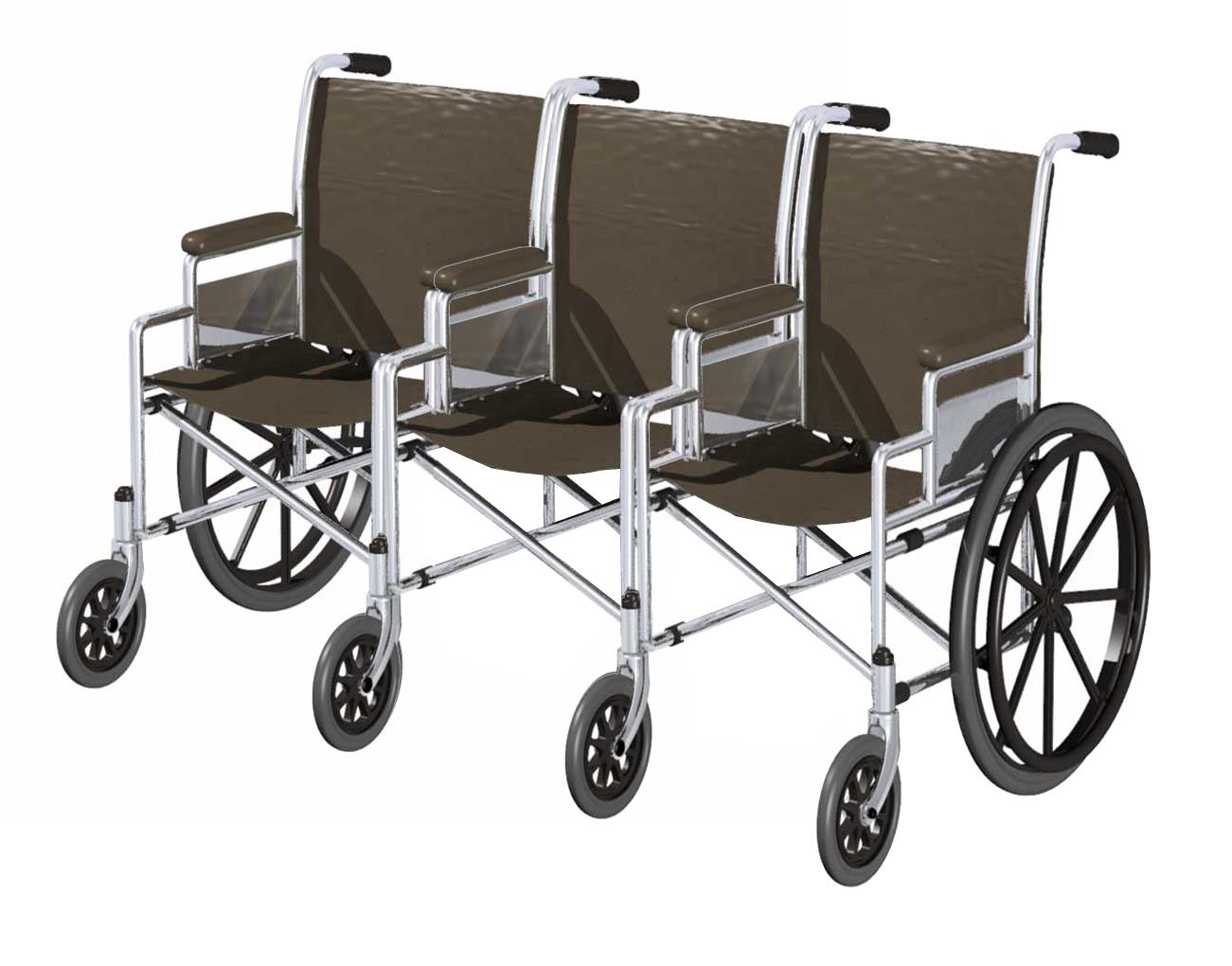 Para qu sirve la silla de ruedas triple pedestre - Ruedas de sillas ...
