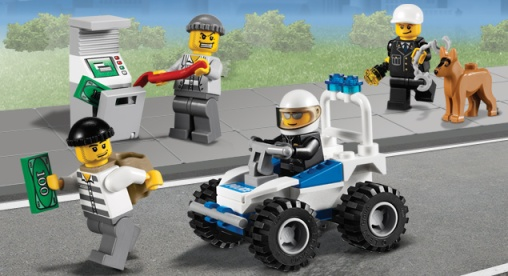 Lego City - Police kit 7279. Imagen: hyyp://city.lego.com