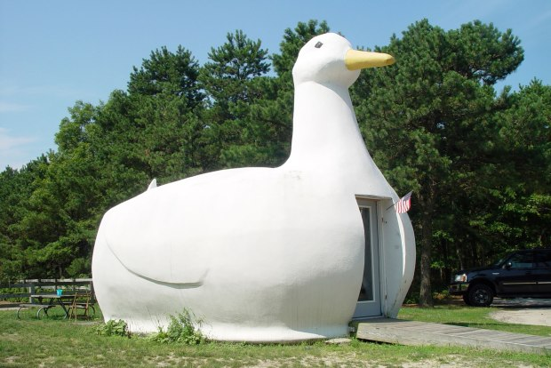 Duck building, Flanders, Long Island