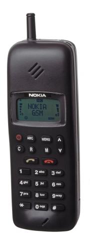 Nokia 1011 de 1992, posible inspiración