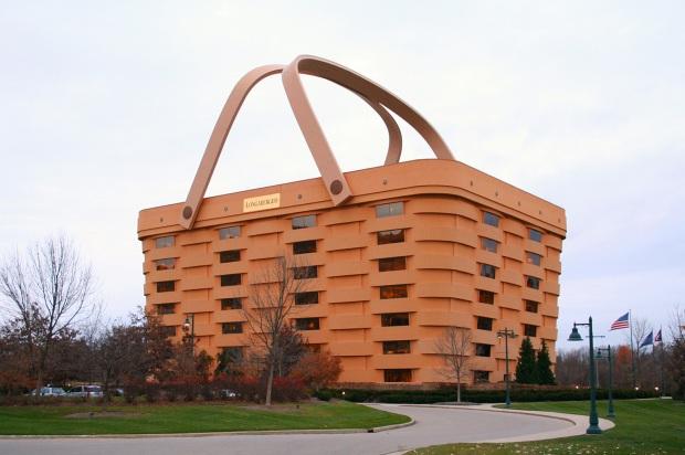 Oficinas centrales de Longaberger Basket Company, Ohio, USA