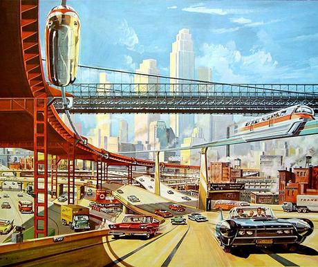Autopista futurista