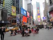 Parque de Bolsillo en Times Square, Nueva York. Imagen: Rodrigo Díaz