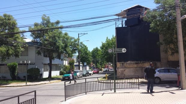 Fachada de la cárcel de Talca