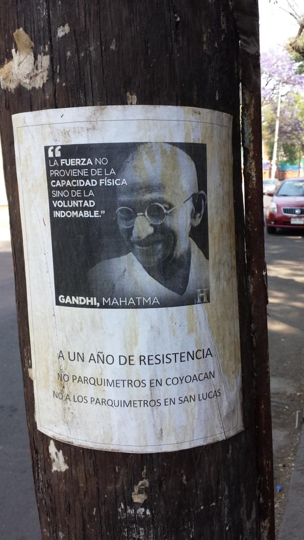 Gandhi parquímetros