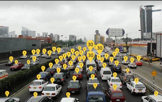 Matemática urbana en Lima, Perú, vía Espacio 360 (@Espacio360Peru)