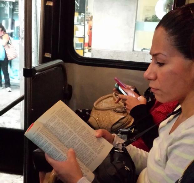 Lectura transporte público